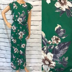 Collective Concepts Green Jumpsuit